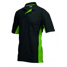 Poloshirt Bi-Color TP2000 blacklime