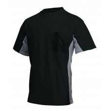 T-shirt Bi-Color TT2000 blackgrey