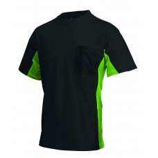 T-shirt Bi-Color TT2000 blacklime