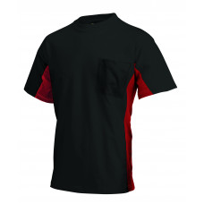 T-shirt Bi-Color TT2000 blackred
