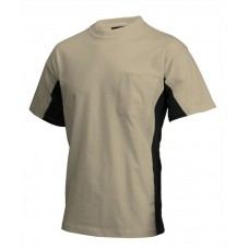 T-shirt Bi-Color TT2000 Khakiblack