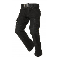 Worker canvas met Cordura TWC2000 black