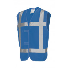 Vest Reflectie V-REF Royalblue