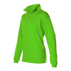 Sweater ritskraag ZS280 Lime