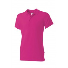 Poloshirt fitted PPF180 fucHSia