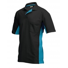 Poloshirt Bi-Color TP2000 blackturq
